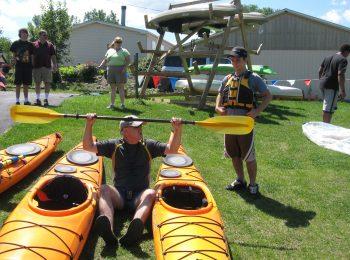 Kayak from Oak Island in Waterloo to Seneca Falls